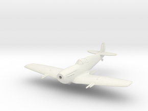 Spitfire LF Vc Flying in White Natural Versatile Plastic: 1:144