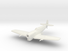 Spitfire LF Vc Tropical, Flying in White Natural Versatile Plastic: 1:144