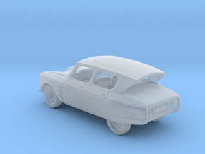 Citroen Ami 6 1:87 HO in Smooth Fine Detail Plastic
