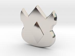 Pokemon Kanto Volcano Badge in Platinum