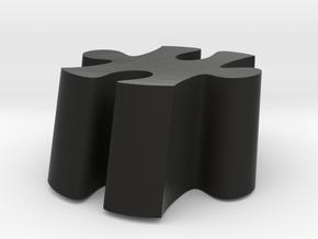 C6 - Makerchair in Black Natural Versatile Plastic