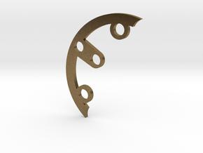 Rad fin A-4 in Natural Bronze