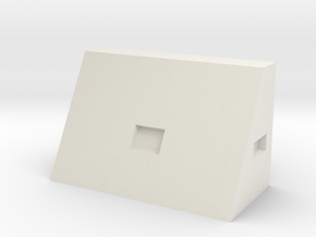 1/64 30 inch triangle toolbox in White Strong & Flexible