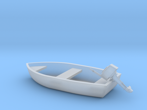Boat - Motor HO 87:1 Scale in Smooth Fine Detail Plastic