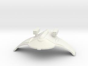 Artemis Class Missile Frigate in White Natural Versatile Plastic