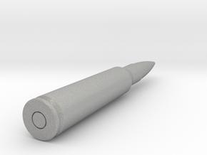 bullet 12.7x108mm in Aluminum
