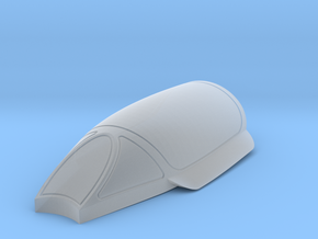 Bell-X-1A/B-canopy in Smoothest Fine Detail Plastic