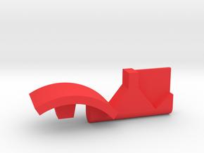 Warthog throttle part - no detents in Red Processed Versatile Plastic