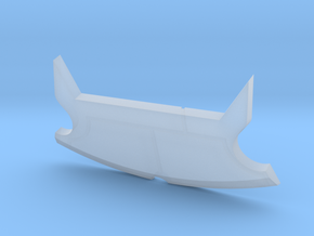 Falcon Turret Fin in Smooth Fine Detail Plastic
