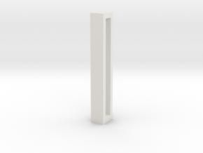 Choker Slide Letters (4cm) - Letter I in White Premium Versatile Plastic