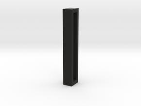 Choker Slide Letters (4cm) - Letter I in Black Premium Versatile Plastic
