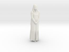 Printle F Jacqueine Bisset - 1/24 - wob in White Natural Versatile Plastic