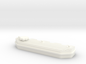 1/10 Defender TDI Valve Cover in White Processed Versatile Plastic