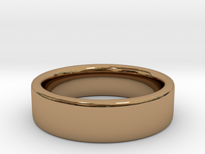 Basic Ring US 4 3/4 in Polished Brass