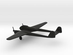 Focke-Wulf Fw 189 A-1 Uhu in Black Natural Versatile Plastic: 1:160 - N