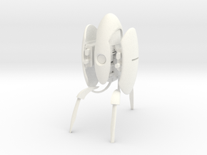 Portal turret in White Processed Versatile Plastic