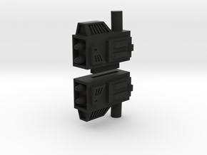Jaguar Buggy Launchers in Black Natural Versatile Plastic