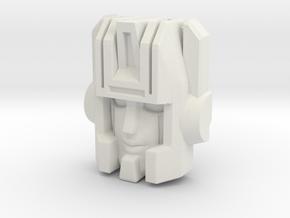 Skullgrin/Leige Maximo Face  in White Natural Versatile Plastic