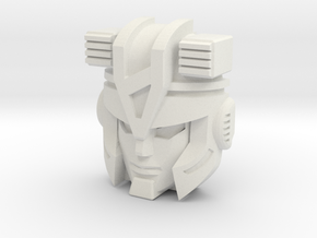Submarauder/Alchemist Prime Face in White Natural Versatile Plastic