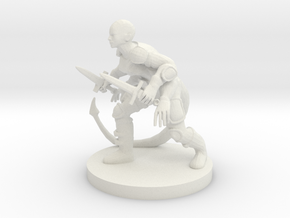 Rogue With Four Arms in White Natural Versatile Plastic