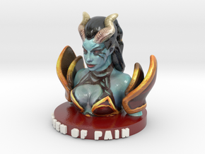 Queen of Pain #DOTA2 #Valve in Glossy Full Color Sandstone