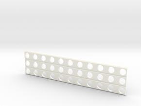 Sand Ladder V3 in White Processed Versatile Plastic