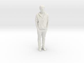 Printle F James Blunt - 1/24 - wob in White Natural Versatile Plastic