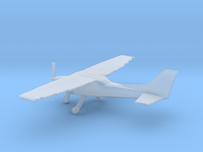1:200 Cessna C172 Wheeled Version in Frosted Ultra Detail