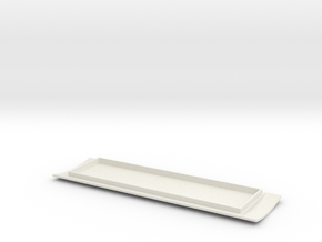 1873 30' Baggage ROOF016 in White Natural Versatile Plastic
