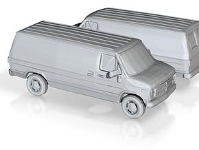 1/120 1988 Chevrolet G Series Van in Smooth Fine Detail Plastic