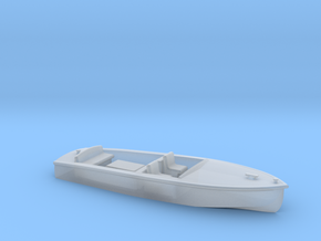 Classic RUNABOUT HO Scale Boat in Smooth Fine Detail Plastic