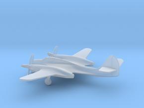 McDonnell XP-67 Moonbat in Smooth Fine Detail Plastic: 6mm