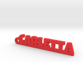 CARLETTA_keychain_Lucky in Red Processed Versatile Plastic
