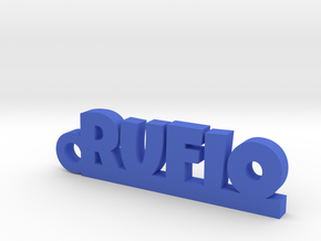 RUFIO_keychain_Lucky in Blue Processed Versatile Plastic