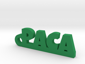 PACA_keychain_Lucky in Smooth Fine Detail Plastic