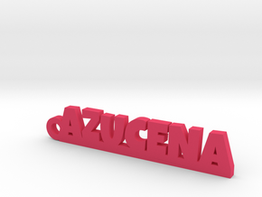 AZUCENA_keychain_Lucky in Pink Processed Versatile Plastic