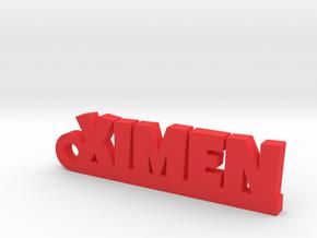 XIMEN_keychain_Lucky in Polished Brass
