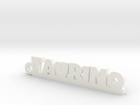 TAURINO_keychain_Lucky in Polished Brass