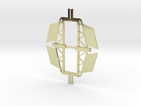 Y-Wing Sealab Vector fins in 18k Gold