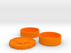 Steam Punk Set USA Dollar in Orange Processed Versatile Plastic