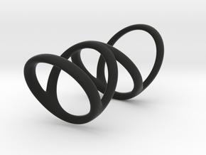 Ring for Bob L1 7-8 L2 1 3-8 D1 6 D2 6 1-2 D3 9 1- in Black Premium Strong & Flexible