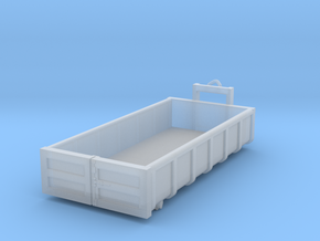 N Scale Container 15m3 in Smooth Fine Detail Plastic