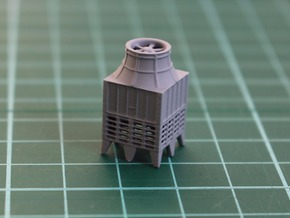 N Scale Industrial Chiller in Smooth Fine Detail Plastic