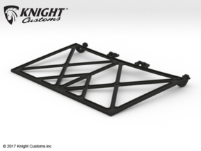 SR50015 SR5 Hood Frame in Black Natural Versatile Plastic