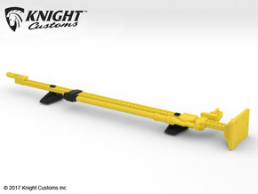 AJ10051 Jack and Hood Mount - YELLOW in Yellow Processed Versatile Plastic