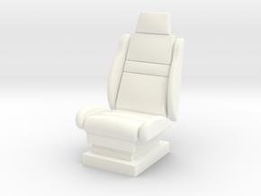 1-25 Seat 1 in White Processed Versatile Plastic