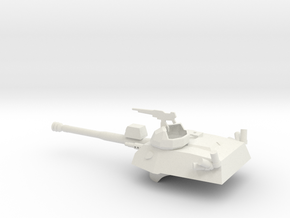 036G EE-9 Cascavel Turret 1/56 in White Natural Versatile Plastic