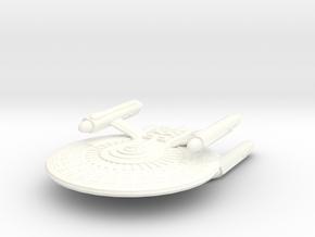USS Harlan in White Processed Versatile Plastic