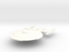 USS Pharoh in White Processed Versatile Plastic