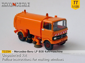 Mercedes-Benz LP 808 Kehrmaschine (TT 1:120) in Smooth Fine Detail Plastic